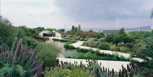 Jardí Botànic em Montjuic