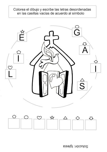 Dibujos De Iglesias Catolicas Para Colorear Iglesia Para Colorear