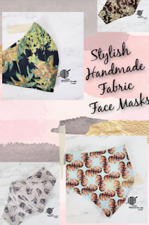 Handmade Cotton Face Masks Stylish Fabric Face Coverings
