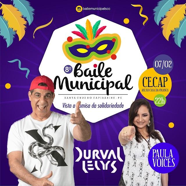 8° Baile Municipal de Santa Cruz do Capibaribe já tem data e atrações definidas