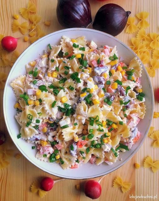 Meksykańska sałatka z makaronem (do grilla) / Mexican Style Pasta Salad