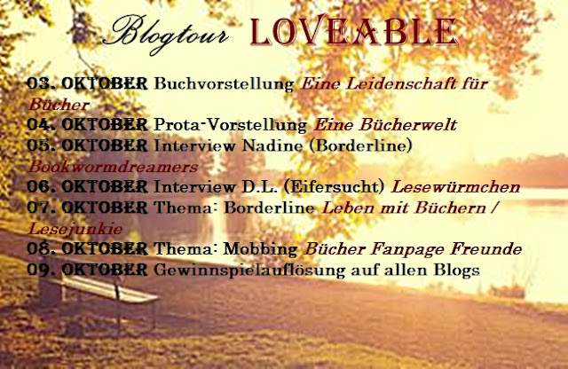bookwormdreamers nadja interview nadine thema borderline selbstverletzen blogtour. Black Bedroom Furniture Sets. Home Design Ideas