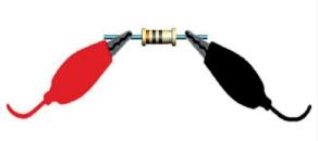 كيفية وضع اطراف الافوميتر لقياس المقاومة