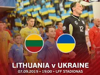 Литва – Украина смотреть онлайн бесплатно 7 сентября 2019 прямая трансляция в 19:00 МСК.
