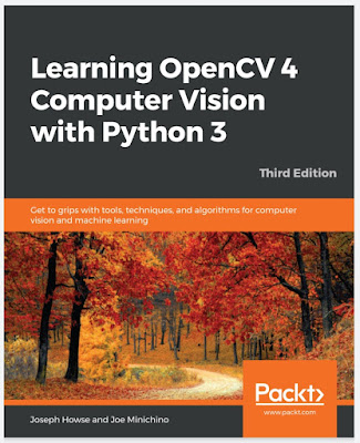 Learning OpenCV 4 Computer Vision with Python 3: Get to grips with tools, techniques, and algorithms for computer vision and machine learning