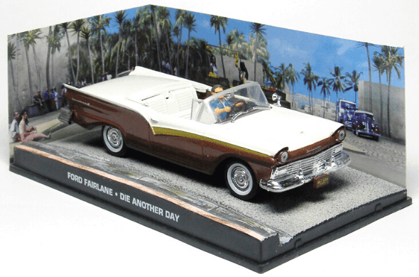 Ford Fairlane Die another day 1:43