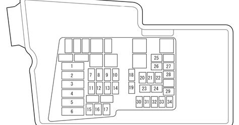 Wiring Diagram Blog: 2007 Mazda Cx7 Fuse Box Diagram