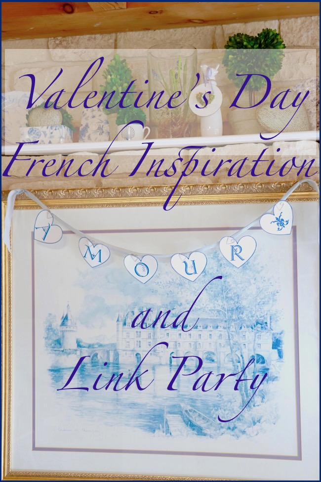 Valentine's day French inspiration and linky party