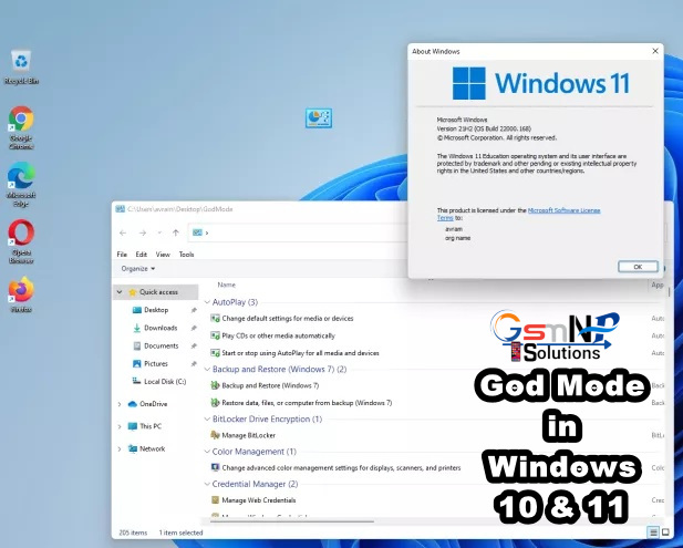 How to Enable God Mode in Windows 10 & 11 Using Command Prompt