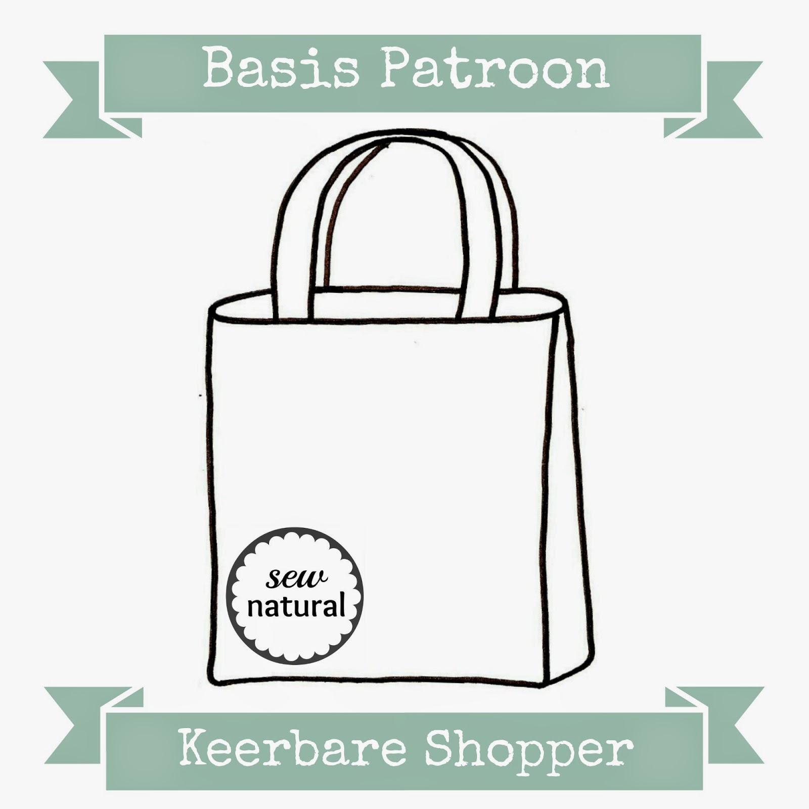 de3e2639f9d Ik heb laatst mijn BasisPatroon om een Omkeerbare Shopper te naaien voor  jullie uitgeschreven, je vind hem HIER als Gratis Download.