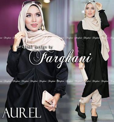 20 Model Baju Muslim Bahan Kaos Spandek Terbaru 2018 KEREN