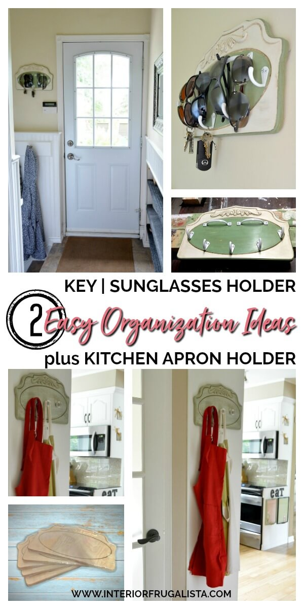 Two Easy DIY Kitchen and Back Landing Organization Ideas