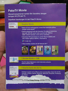 "Detail Paket ""PakeTri Movie""dari Tri"