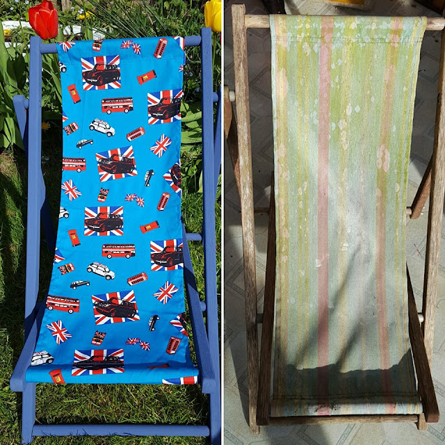 Deckchair upcycle