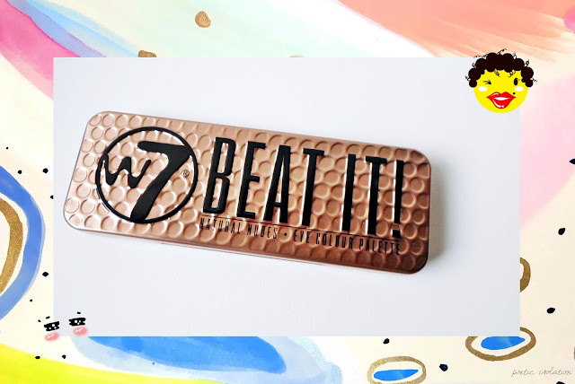 w7 cosmetics Beat It! Eye shadow paletter review