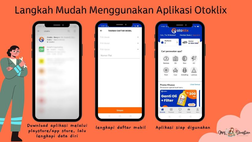 Langkah Mudah Menggunakan Aplikasi Otoklix