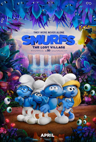 Smurfs: The Lost Village (Web-DL 720p Dual Latino / Ingles Subtitulada)
