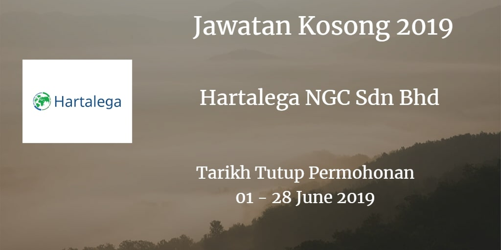 Jawatan Kosong Hartalega NGC Sdn Bhd 01 - 28 June 2019