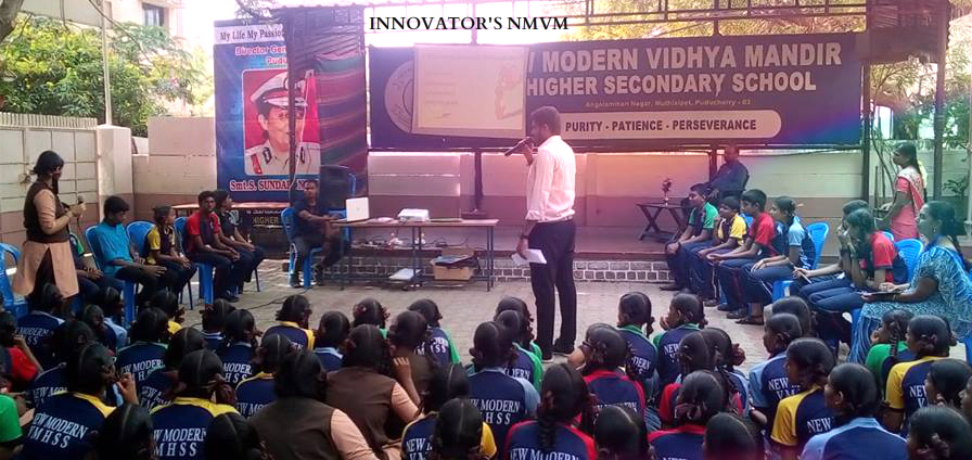 INNOVATOR'S NMVM ANNUAL QUIZ CONTEST 2018-2019        CHIEF MENTOR