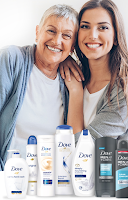 Zwroty za zakupy Dove