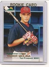 Yadi's first card