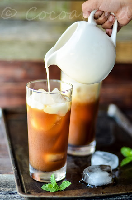 Thai Iced Tea with Almond Milk: An Ode to Summer