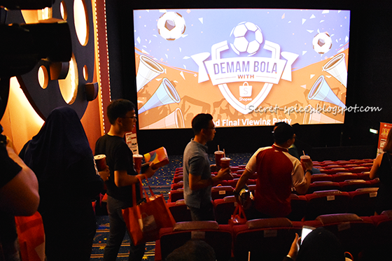Shopee - Deman Bola with Shopee Grand Viewing World Cup Finals Party