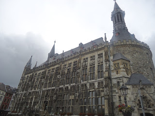 Travel aachen rathaus city hall germany
