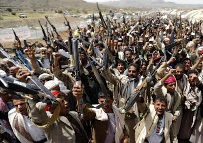Basis Militer di Serang Syiah Houthi