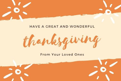 Have a great and wonderful thanksgiving written on design background.