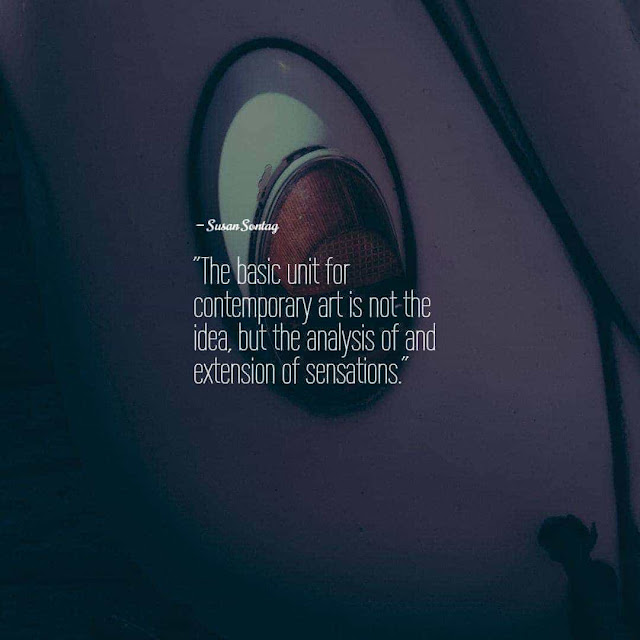 Quotes on contemporary art