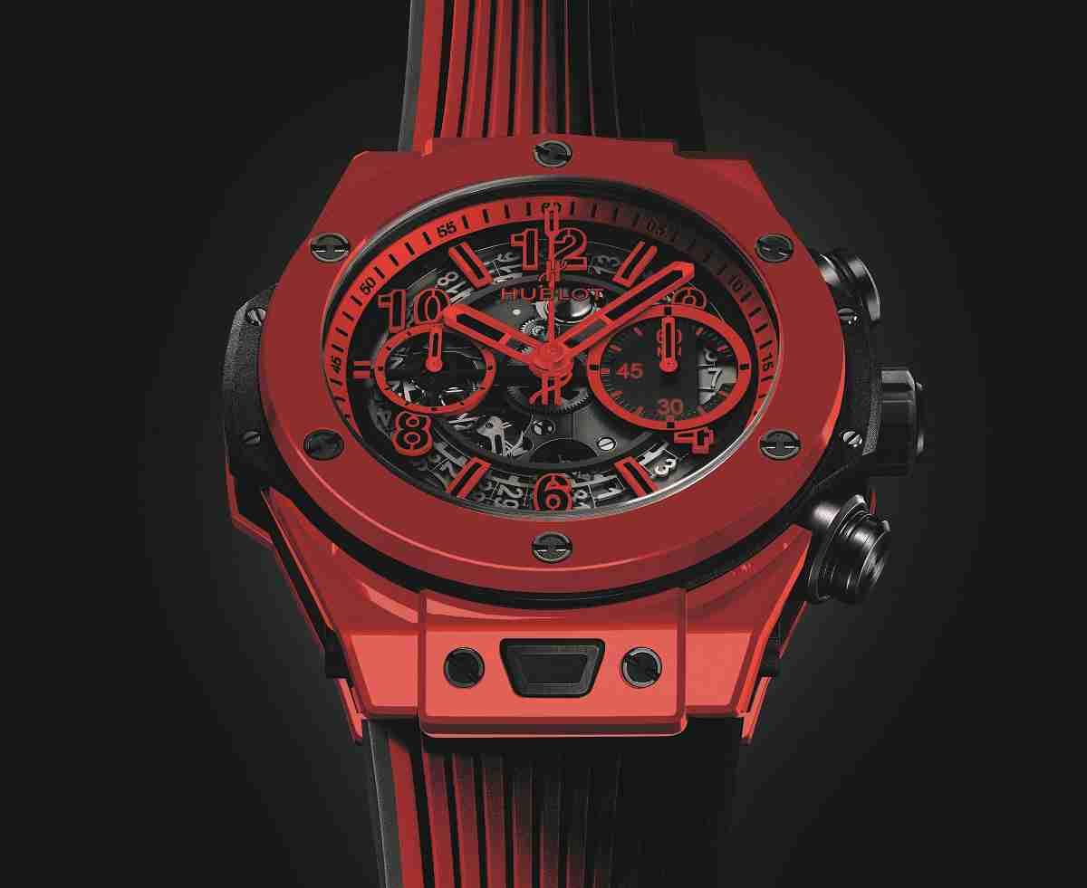 d5eff8e3c74b Réplicas De Relojes Hublot Big Bang Unico Red Magic Ceramic 411.CF.8513.