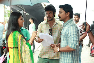Kreshna Anandhi Nithin Sathya Karunas starring Pandigai Movie Stills  0009.jpg