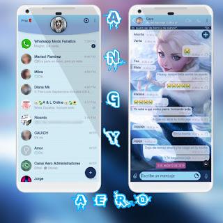 Baby Girl Theme For YOWhatsApp & Aero WhatsApp By Ave fénix