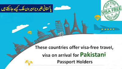 List of Visa Free countries for Pakistan 2021