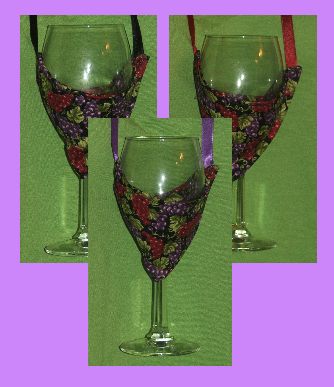 Goblet Style Wine Glasses Wine Glass Holder Necklaces Bikini Style Wine Glass