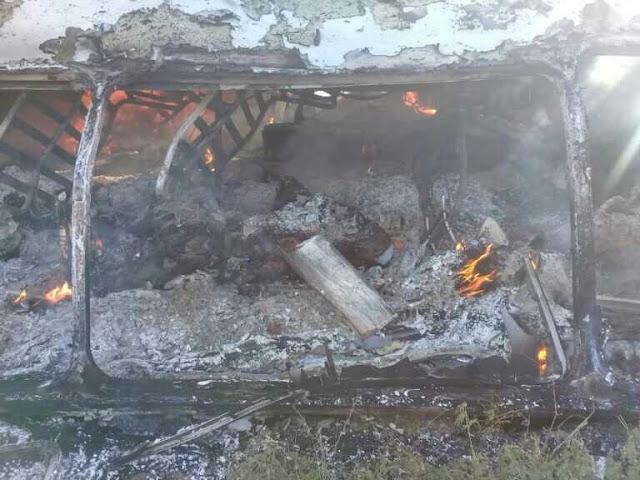 Ocho pasajeros de una buseta fallecieron tras brutal choque contra un poste en Coro