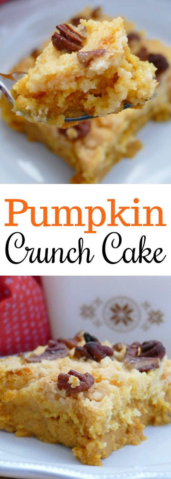 This is the only pumpkin dessert you'll need to make this fall! The bottom is like a delicious custard pudding with a crunchy cake crust on top! SO heavenly!