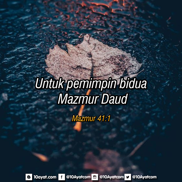 Mazmur 41:1