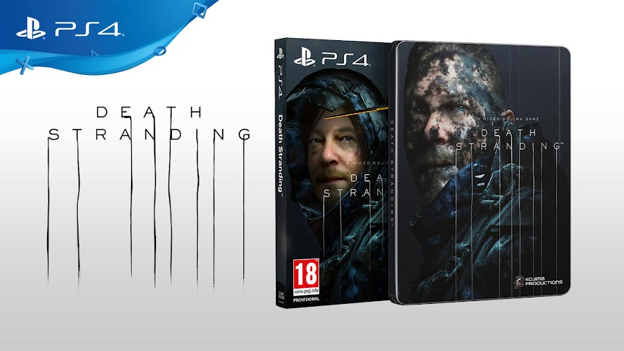death stranding cover art revealed sdcc 2019 hideo kojima ps4 kojima productions sony interactive