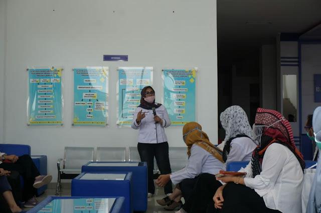 Rumah Sakit Umum Daerah Bandar Negara Husada (RSUD BNH) Provinsi Lampung melaksanakan rapid test Covid -19