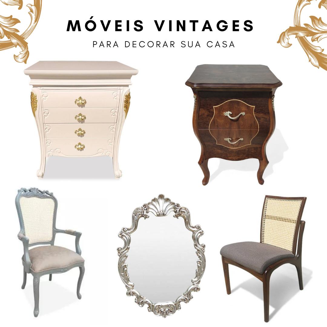 Móveis Vintages Para Decorar Sua Casa