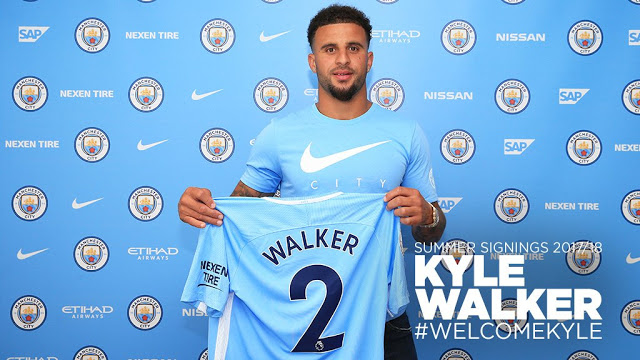 Kyle Walker Signs For Manchester City