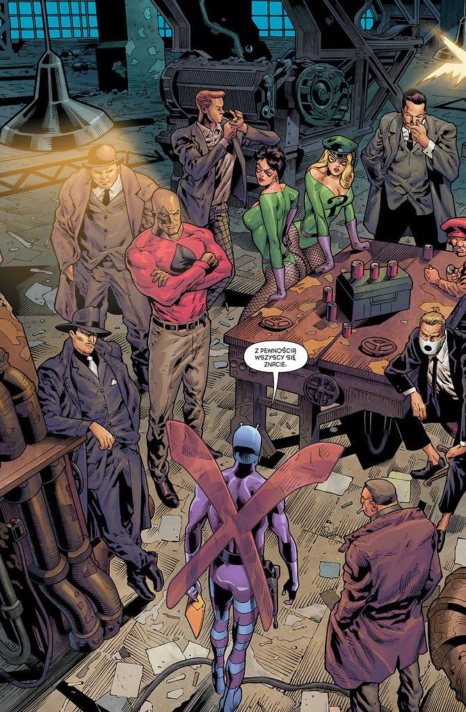 Detective Comics tom 6 przykładowa strona