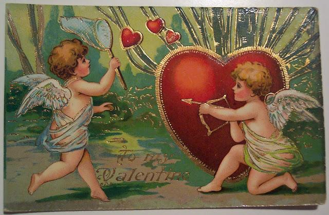 St. Valentine's Day, 14 февраля, праздники февраля, праздники зимние, праздники февральские, Валентинов день, День святого Валентина, День влюбленных, День всех влюбленных, любовь, про любовь, любовь в картинках, открытки, открытки ретро, открытки на День святого Валентина, открытки старинные, ретро, любовь ретро, открытки с ангелами, открытки с сердцем, открытки на День Влюбленных, открытки романтические, романтика ретро,