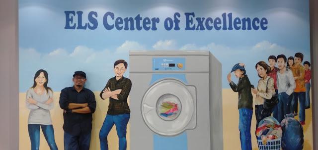 Mural Ngantri di Laundry