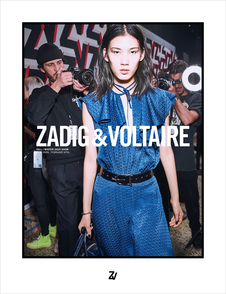 Zadig & Voltaire's Fall/Winter 2020/21 Campaign
