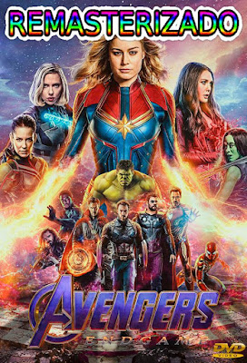 Avengers Endgame 2019 DVD R1 NTSC Latino RMZ