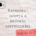 Karantén-interjú a kedvenc szerzőinkkel
