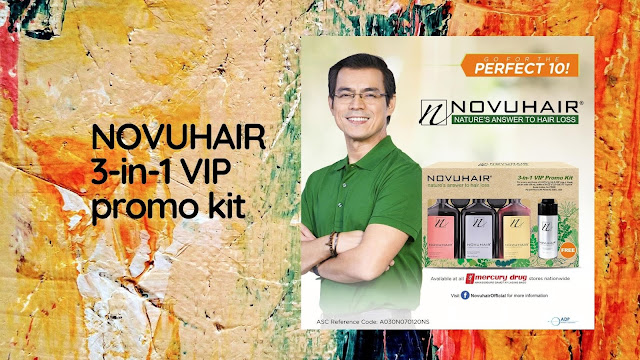 Novuhair 3-in-1 VIP Promo Kit